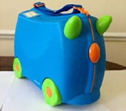 "Magmatic's ""Trunki"" suitcase"